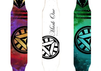 x3 MTB decks Mark One Boards